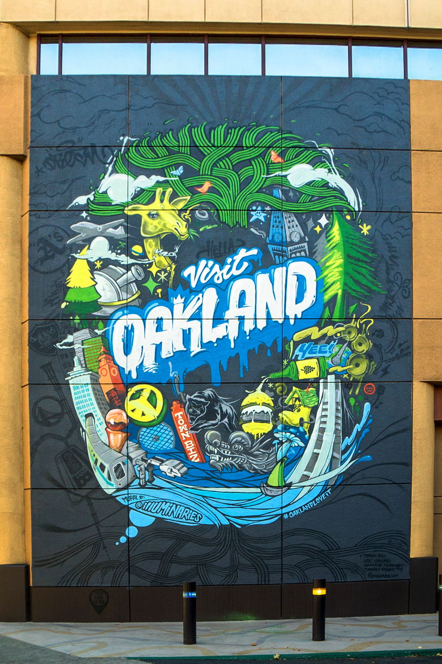 Illuminaries bay area street art muralists and graphic for 125 12th street 4th floor oakland ca 94607